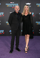 "HOLLYWOOD, CA - April 19: Tommy Flanagan, Dina Livingston, At Premiere Of Disney And Marvel's ""Guardians Of The Galaxy Vol. 2"" At The Dolby Theatre  In California on April 19, 2017. Credit: FS/MediaPunch"