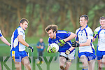 Pa Joy Laune Rangers gary Nagle Keel in the Mid Kerry championship quarter final in Killorglin on Saturday