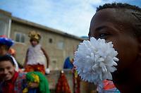 OLINDA, PE, 08.02.2016 - CARNAVAL-PE - Encontro de Maracatu na Casa da Rabeca, em Olinda (PE), durante esta segunda-feira (08). (Foto: Diego Herculano / Brazil Photo Press)