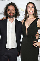 LOS ANGELES - SEP 29:  Alan Carmona, Romina Schwedler at the Catalina Film Festival - September 29 2017 at the Casino on Catalina Island on September 29, 2017 in Avalon, CA