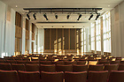 November 30, 2017; LaBar Family LaBar Family Performance Hall in O'Neill Hall.  (Photo by Barbara Johnston/University of Notre Dame)