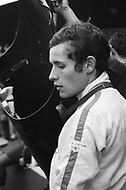 Watkins Glen, New York, USA. 01 Oct 1967. Belgian Formula One racecar driver Jacky Ickx attends the 1967 Watkins Glen Formula One Grand Prix.