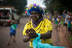 A traditional dancer performing at the arrival of the Baton as the Queen's Baton Relay visited Bamaga. In the host state of Queensland the Queen's Baton will visit 83 communities from Saturday 3 March to Wednesday 4 April 2018. As the Queen's Baton Relay travels the length and breadth of Australia, it will not just pass through, but spend quality time in each community it visits, calling into hundreds of local schools and community celebrations in every state and territory. The Gold Coast 2018 Commonwealth Games (GC2018) Queen's Baton Relay is the longest and most accessible in history, travelling through the Commonwealth for 388 days and 230,000 kilometres. After spending 100 days being carried by approximately 3,800 batonbearers in Australia, the Queen's Baton journey will finish at the GC2018 Opening Ceremony on the Gold Coast on 4 April 2018.