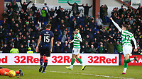 1st December 2019; Global Energy Stadium, Dingwall, Highland, Scotland; Scottish Premiership Football, Ross County versus Celtic; Tom Rogic of Celtic celebrates after he makes it 3-1 in the 67th minute - Editorial Use