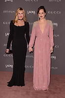 LOS ANGELES, CA - NOVEMBER 04: Melanie Griffith, Dakota Johnson at the 2017 LACMA Art + Film Gala Honoring Mark Bradford And George Lucas at LACMA on November 4, 2017 in Los Angeles, California. <br /> CAP/MPI/DE<br /> &copy;DE/MPI/Capital Pictures