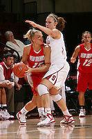 STANFORD, CA - NOVEMBER 20:  Kayla Pedersen of the Stanford Cardinal during Stanford's 84-46 win over the University of New Mexico on November 20, 2008 at Maples Pavilion in Stanford, California.