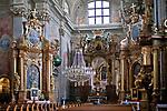 Kości&oacute;ł św. Anny - wnętrze, Warszawa, Polska<br /> Church of St Anna - interior, Warsaw, Poland