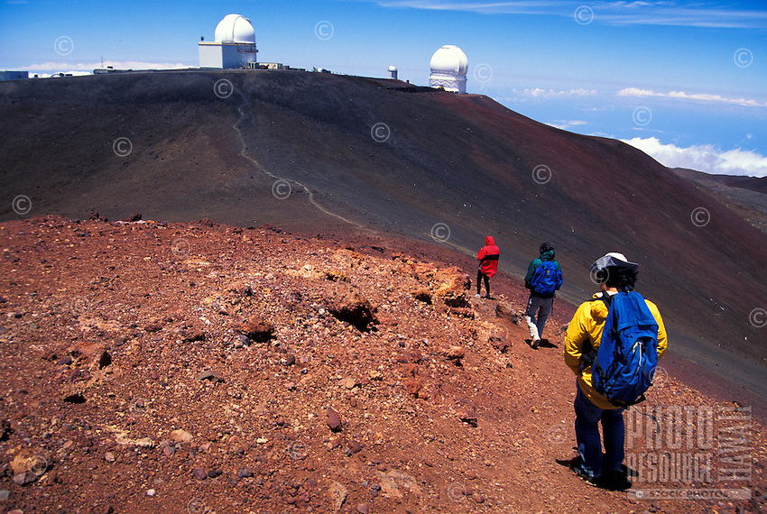 Hiking Mauna Kea on the Big islnad of Hawaii