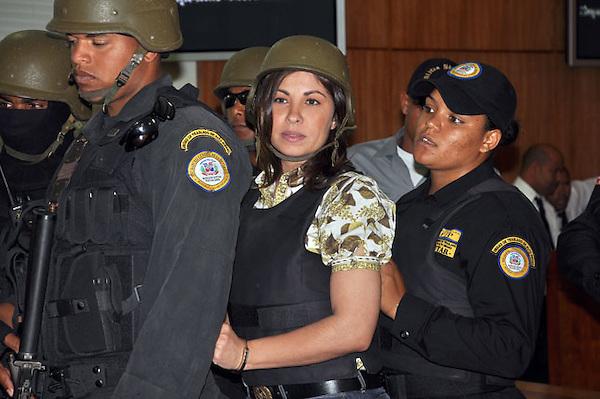 Sobeida Felix Morel, Principal Implicada en el Caso Figuero Agosto, .Ciudad: Santo Domingo.Fotos:  Carmen Suárez/acento.com.do.Fecha: 12/05/2011.