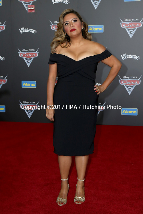 """LOS ANGELES - JUN 10:  Cristela Alonzo at the """"Cars 3"""" Premiere at the Anaheim Convention Center on June 10, 2017 in Anaheim, CA"""