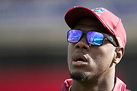 Carlos Braithwaite (West Indies) during West Indies vs New Zealand, ICC World Cup Warm-Up Match Cricket at the Bristol County Ground on 28th May 2019