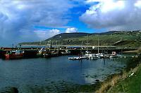 Fishing port, Sutherland, Scotland, Uk