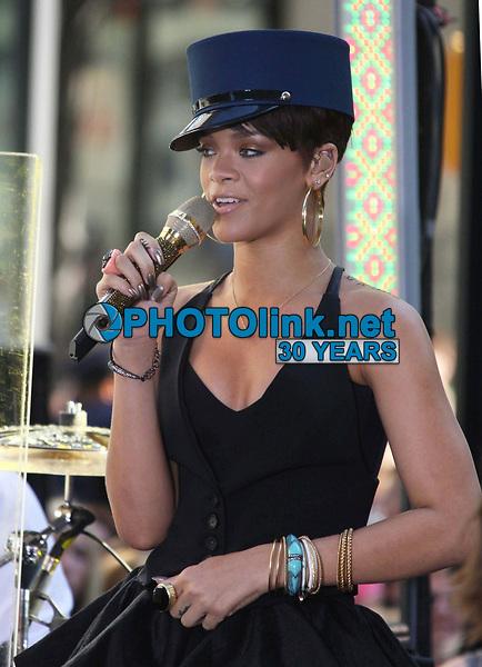 Rihanna on the NBC Today Show <br /> 2008<br /> Photo By John Barrett/CelebrityArchaeology.com