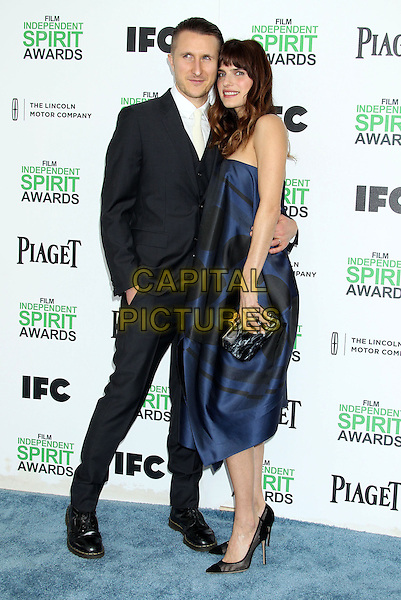 1 March 2014 - Santa Monica, California - Scott Campbell, Lake Bell. 2014 Film Independent Spirit Awards held at Santa Monica Beach. <br /> CAP/ADM/RE<br /> &copy;Russ Elliot/AdMedia/Capital Pictures