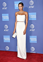 PALM SPRINGS, CA - JANUARY 03: Laura Harrier attends the 30th Annual Palm Springs International Film Festival Film Awards Gala at Palm Springs Convention Center on January 3, 2019 in Palm Springs, California.<br /> CAP/ROT/TM<br /> &copy;TM/ROT/Capital Pictures