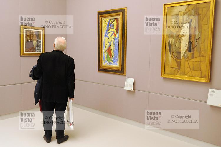 - Milano, il nuovo museo d'arte del 900 nel palazzo dell'Arengario in piazza del Duomo<br /> <br /> - Milan, the new arts museum of the 900 in the Arengario palace at Duomo square