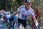 Warren Barguil (FRA) Team Arkea-Samsic misses his drinks bottle during Stage 4 of the Volta Ciclista a Catalunya 2019 running 150.3km from Llanars (Vall De Camprodon) to La Molina (Alp), Spain. 28th March 2019.<br /> Picture: Colin Flockton | Cyclefile<br /> <br /> <br /> All photos usage must carry mandatory copyright credit (© Cyclefile | Colin Flockton)