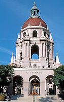 Pasadena CA: Pasadena City Hall--Eastern Elevation--Euclid St. entrance. John Bakewell, Jr. & Arthur Browne, Jr. of San Francisco, 1925-27. Photo '87.
