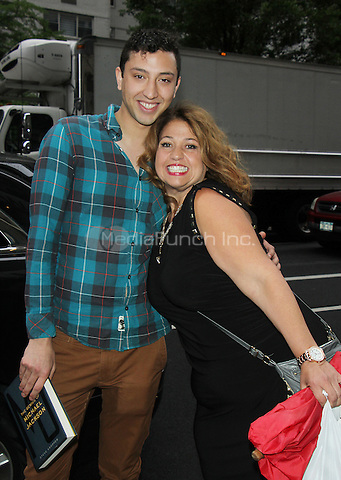 NEW YORK, NY-June 08: Jason Scoop,  Rachel Butera at AOL BUILD to talk about new series First Impressions in New York. NY June 08, 2016. Credit:RW/MediaPunch