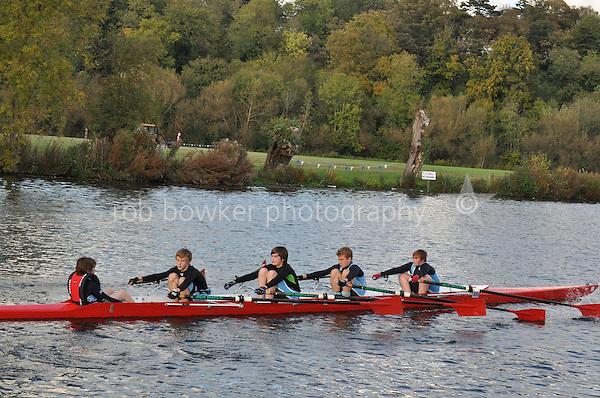 495 LVA .Reading Rowing Club Small Boats Head 2011. Tilehurst to Caversham 3,300m downstream. Sunday 16.10.2011