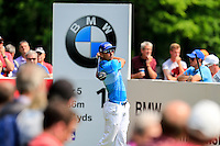 Rafa Cabrera Bello (ESP) on the 12th during round 3 of the 2016 BMW PGA Championship. Wentworth Golf Club, Virginia Water, Surrey, UK. 28/05/2016.<br /> Picture Fran Caffrey / Golffile.ie<br /> <br /> All photo usage must carry mandatory copyright credit (© Golffile   Fran Caffrey)