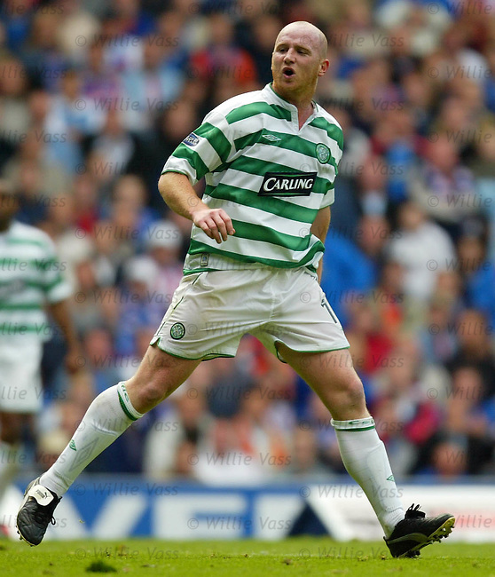 John Hartson. Celtic.Stock season 2003-2004.pic willie vass