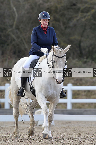 Class 5. British Dressage. Brook Farm training centre. Stapleford abbots. Essex. 10/03/2018. ~ MANDATORY CREDIT Garry Bowden/SIPPA - NO UNAUTHORISED USE - +44 7837 394578