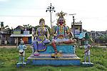 Indian temple in tamil nadu. 2015