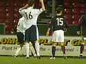 27/11/2004  Copyright Pic : James Stewart.File Name : jspa15_falkirk_v_ross_county.STUART MALCOLM (HIDDEN) SCORES COUNTY'S EQUALISING SECOND GOAL......Payments to :.James Stewart Photo Agency 19 Carronlea Drive, Falkirk. FK2 8DN      Vat Reg No. 607 6932 25.Office     : +44 (0)1324 570906     .Mobile   : +44 (0)7721 416997.Fax         : +44 (0)1324 570906.E-mail  :  jim@jspa.co.uk.If you require further information then contact Jim Stewart on any of the numbers above.........