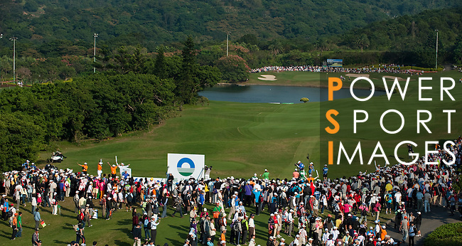 TAOYUAN, TAIWAN - OCTOBER 22: General view of the 13th hole day three of the LPGA Imperial Springs Taiwan Championship at Sunrise Golf Course on October 22, 2011 in Taoyuan, Taiwan. Photo by Victor Fraile / The Power of Sport Images