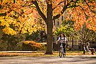 Nov. 2, 2015; Fall color on Main Quad, 2015. (Photo by Matt Cashore/University of Notre Dame)
