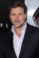 "NEW YORK, NY - JUNE 10: Russell Crowe attends the ""Man Of Steel"" World Premiere at Alice Tully Hall at Lincoln Center on June 10, 2013 in New York City. (Photo by Celebrity Monitor)"