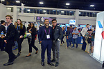 MIAMI BEACH, FL - APRIL 24: German Montoya and Jeff Ransdell attend eMerge Americas 2018 -day2 at Miami Beach Convention Center on April 24, 2018 in Miami Beach, Florida.  ( Photo by Johnny Louis / jlnphotography.com )