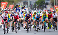Picture by Alex Whitehead/SWpix.com - 14/04/2018 - Commonwealth Games - Cycling Road - Currumbin Beachfront, Gold Coast, Australia - Megan Barker of Wales in action during the Women's Road Race.