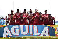 MONTERÍA - COLOMBIA ,04-11-2018: Formación del Rionegro contra Jaguares de Córdoba durante partido por la fecha 18 de la Liga Águila II 2018 jugado en el estadio Municipal Jaraguay de Montería . / Team of Rionegro  agaisnt of Jaguares of Cordoba  during the match for the date 18 of the Liga Aguila II 2018 played at Municipal Jaraguay Satdium in Monteria City . Photo: VizzorImage /Andrés Felipe López  / Contribuidor.