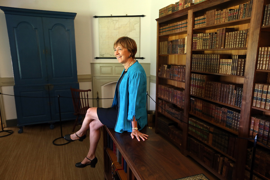 Kat Imhoff is president of the Montpelier Foundation helping build on James Madison's legacy of constitutional self-government at the Montpelier Estate located in Orange, Va. Photo/Andrew Shurtleff