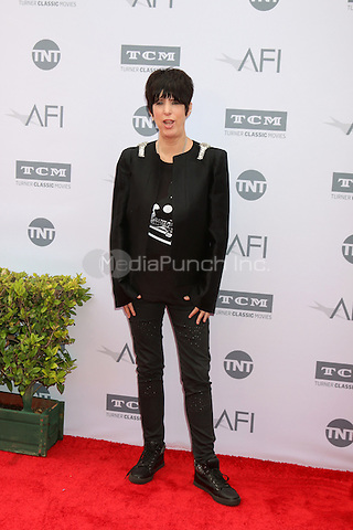 LOS ANGELES, CA - JUNE 9: Diane Warren at the American Film Institute 44th Life Achievement Award Gala Tribute to John Williams at the Dolby Theater on June 9, 2016 in Los Angeles, California. Credit: David Edwards/MediaPunch