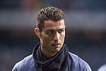 Cristiano Ronaldo of Real Madrid before the match Real Madrid vs Napoli, part of the 2016-17 UEFA Champions League Round of 16 at the Santiago Bernabeu Stadium on 15 February 2017 in Madrid, Spain. Photo by Diego Gonzalez Souto / Power Sport Images