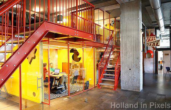 Nederland  Amsterdam  2016 .  Het Volkshotel aan de Wibautstraat. Foto Berlinda van Dam / Hollandse Hoogte