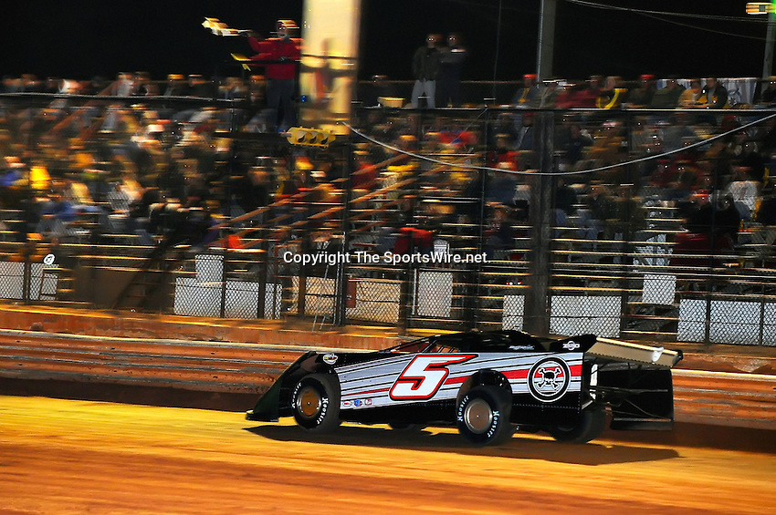 Jan 28, 2010; 7:58:55 PM; Waynesville, GA., USA; The Southern All Stars Racing Series running The Super Bowl of Racing VI at Golden Isles Speedway.  Mandatory Credit: (thesportswire.net)