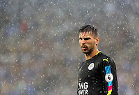 Pictured: Ron-Robert Zieler of Leicester City Saturday 27 August 2016<br />