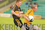 Currow's T.O'Leary and Listowel Emmet's Paudie Buckley.