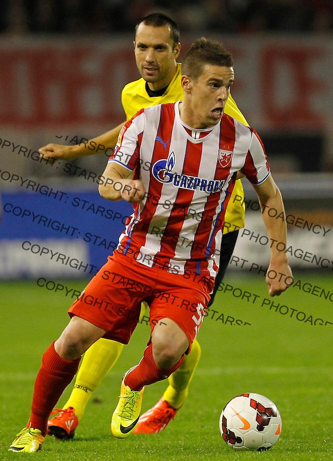 Fudbal Super liga season 2013-2014<br /> Crvena Zvezda v Novi Pazar<br /> Aleksandar Kovacevic<br /> Beograd, 19.10.2013.<br /> foto: Srdjan Stevanovic/Starsportphoto &copy;