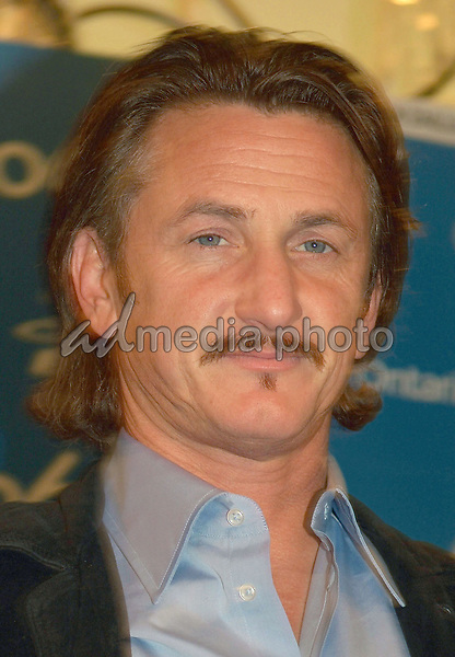 """10 September 2006 - Toronto, Ontario, Canada - Sean Penn. """"All The Kings Men"""" Press Conference during the 2006 Toronto International Film Festival held at Sutton Place Hotel. Photo Credit: Brent Perniac/AdMedia"""