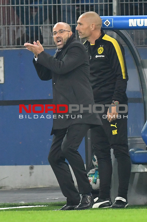 20.09.2016,  GER; 1.FBL Hamburger SV vs Borussia Dortmund im Bild Trainer Peter Bosz (Dortmund) Foto © nordphoto / Witke *** Local Caption ***