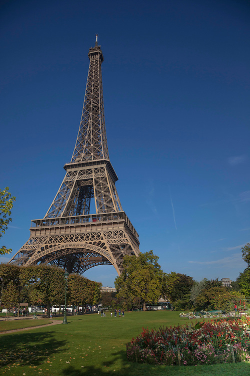 The iconic Eiffel Tower was designed for the Universal Exhibition of 1889