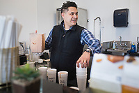 "Dean Martinez makes shakes for first responders, Monday, March 23, 2020 at Pinnacle Nutrition in Rogers. Check out nwaonline.com/200323Daily/ for today's photo gallery.<br /> (NWA Democrat-Gazette/Charlie Kaijo)<br /> <br /> Pinnacle Nutrition co-owner Dean Martinez wanted to find a way to empower people in the community while people were practicing social distancing, so he used his business as an opportunity to distribute health shakes to first responders through public donations. <br /> <br /> ""People feel very locked down, helpless and at home. People want to do something so my wife and I thought to do a 'Shake it Forward',"" he said. <br /> <br /> People can call in to make their donation and Martinez delivers the shakes to the first responders.<br /> <br /> On Saturday, he delivered shakes to the Mercy Hospital Emergency Room, three fire stations on Sunday and will deliver to Rogers police officers on Tuesday. <br /> <br /> Tusker Nutrition in Fayetteville and Pure Nutrition in Bentonville are also participating in 'Shake it Forward'.<br /> <br /> Anyone interested in calling in a donation for a first responder can call 479-270-8850, visit their social media pages or visit any of the participating shops."