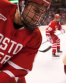Chad Krys (BU - 5) - The Boston University Terriers defeated the Boston College Eagles 3-1 in their opening Beanpot game on Monday, February 6, 2017, at TD Garden in Boston, Massachusetts.