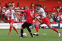 Sam Byrne of Manchester United scores their first goal<br />  Stevenage v Manchester United XI - Pre-season friendly - Lamex Stadium, Stevenage - 26th July, 2013<br />  © Kevin Coleman 2013