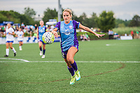 Allston, MA - Sunday July 31, 2016: Camille Levin during a regular season National Women's Soccer League (NWSL) match between the Boston Breakers and the Orlando Pride at Jordan Field.
